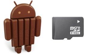Android 4.4 и внешняя MicroSD
