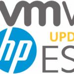 Обновление кастомных HP-образов VMware ESXi