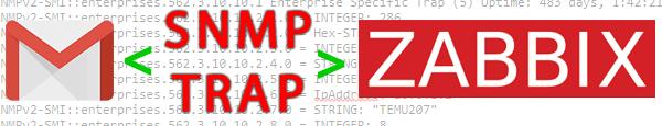 Инструкция по настройке интеграции Zabbix с SNMP TRAP и отправке TRAP'ов на E-Mail