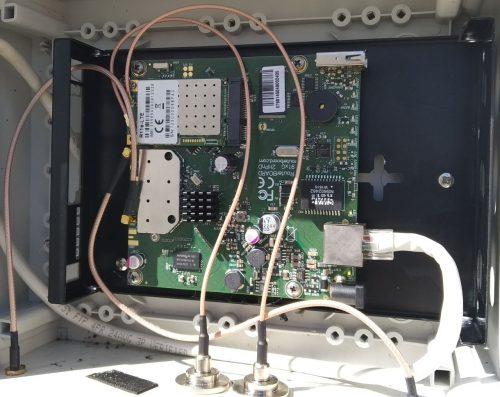 Mikrotik RB912UAG-2HPnD с R11e-LTE